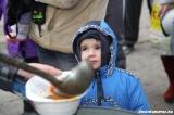 Szigetközi Sasok étel és ruha osztása 2011.12.17