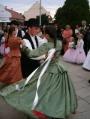 Szabó Kinga néptáncosunk esküvőjén